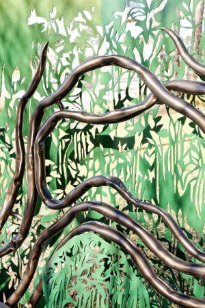Leslie Tharp Designs,The Giving Tree (detail), Gainesville, FL