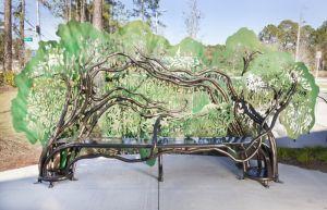 Leslie Tharp Designs,The Giving Tree, Gainesville, FL