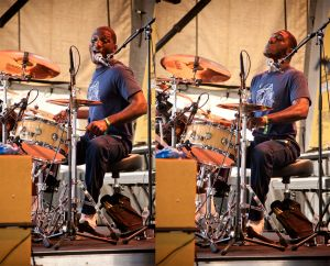 Cedric Burnside, Blues and BBQ Fest, New Orleans, LA