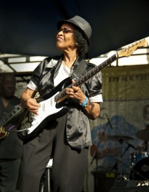 "Beverly ""Guitar"" Watkins, Blues and BBQ Fest, New Orleans, LA"
