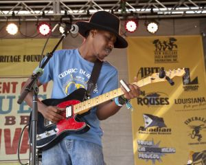 Trenton Ayers, Cedric Burnside Project, Blues and BBQ Fest, New Orleans, LA