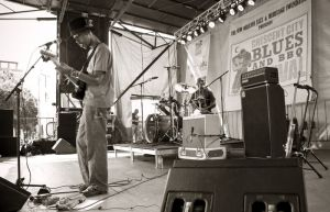 Cedric Burnside Project, Blues and BBQ Fest, New Orleans, LA
