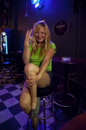 Sarah, Markey's Bar, Bywater, 2012